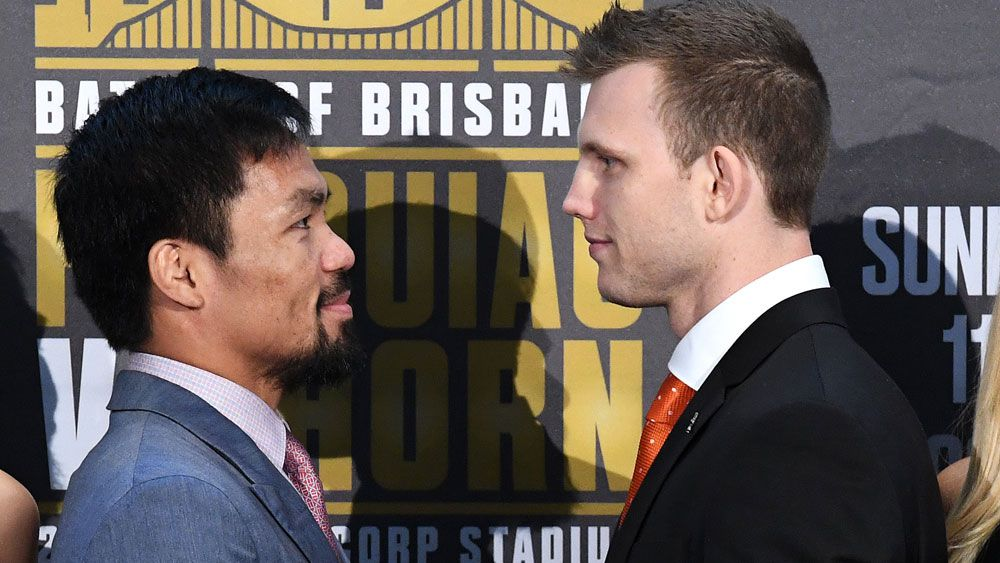 Manny Pacquiao's Austalian trainer Justin Fortune dismisses Jeff Horn's chances for title bout