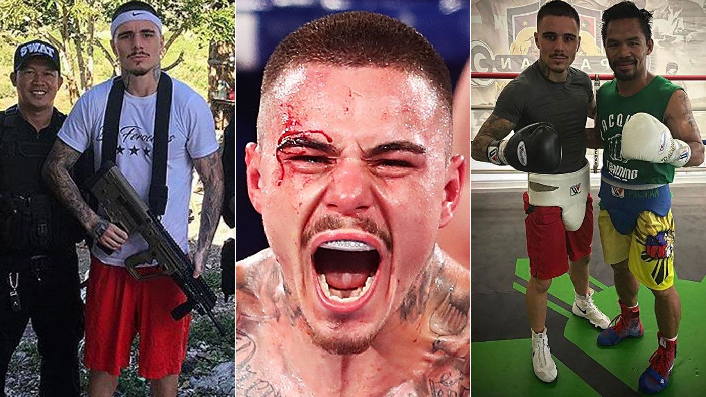 George Kambosos Jr on Manny Pacquaio, ISIS death threats and world title dreams