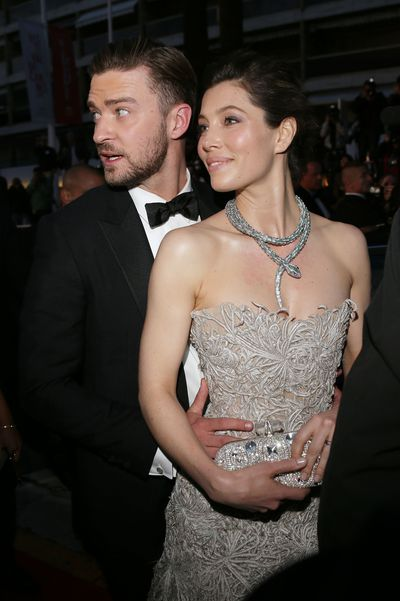 The couple cosied up together at the premiere of 'Inside Llewyn Davis' (in which JT stars) at the 66th Annual Cannes Film Festival in 2013.