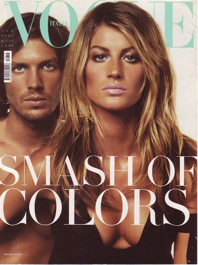 Vogue Italia August 2001 by Steven Meisel