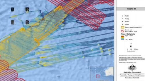 Discarded satellite images show objects inside new MH370 search zone