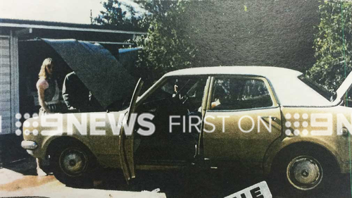 Police are searching for the person who bought this brown and white HK Holden Sedan in 1990. (Image: Supplied)