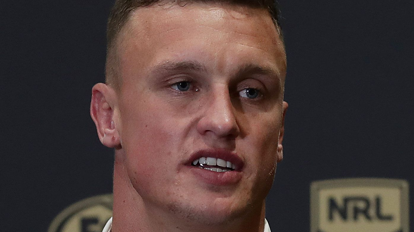 Jack Wighton reacts to leak drama that overshadowed his surprise Dally M Medal win