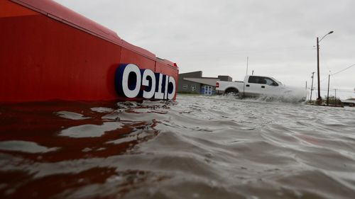 Some streets have suffered severe flooding. (AP)
