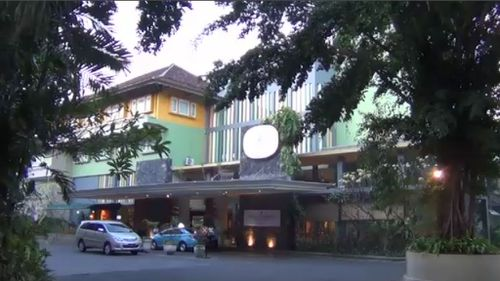The Harris Hotel in Kuta. (9NEWS)