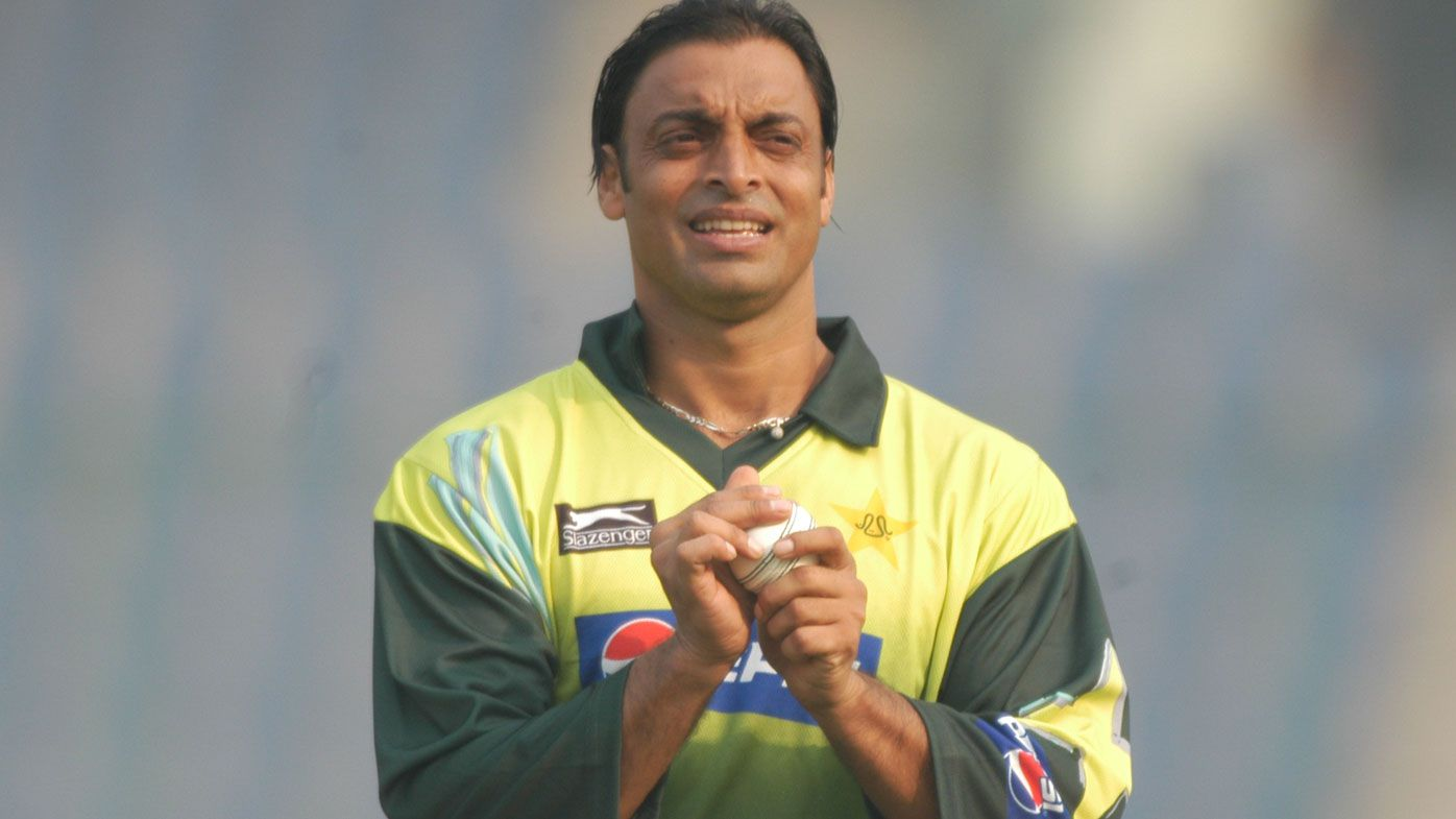 Shoaib Akhtar. (Getty)