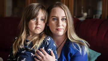 Abby Bayly tries not to think about her melanoma diagnosis when she's with her daughter Allyson.