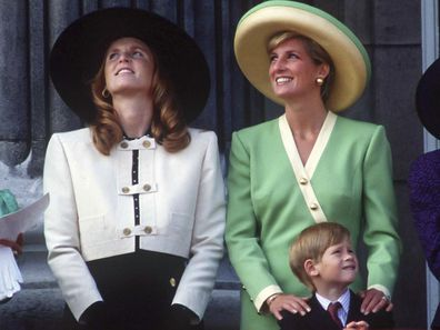 Sarah, Duchess of York and Diana, Princess of Wales