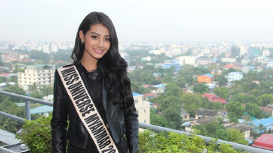 Miss Universe contestant Swe Zin Htet has 'come out' days before the competition.