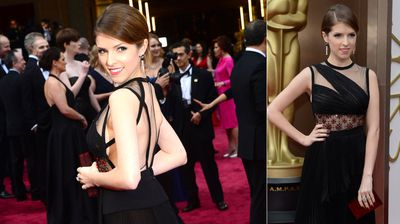 Former Oscar nominee Anna Kendrick from both sides.