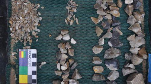 Indigenous artefacts found under Sydney rail site