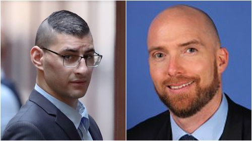 Joseph Esmaili, left, has been found guilty of killing surgeon Patrick Pritzwald-Stegmann.