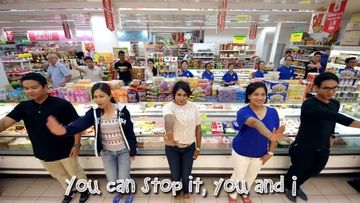 <p>Shoplifting in Singapore must have reached such epic proportions that its police department created a cringe-worthy public service announcement to deter would be shoplifters.  </p><p> Already known for its cleanliness and chewing gum bans, the small Southeast Asian nation that gives its name to a spicy noodle dish could soon be better known for creating the world's cheesiest PSA. </p><p> The Singapore Police Force released a video to warn people off taking five-finger discounts by encouraging citizens to play the role of corrective conscience. </p><p> The PSA warns people not steal with a simple message set to a gaudy chorus line with dancing. </p><p> Locals must surely be hoping that shoplifting drops to zero so they can take this monstrosity off the air. </p><p> Take a look through for other, interesting PSAs.  </p><p> </p>