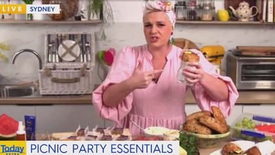 Jane de Graaff shares her picnic tips on Today Extra