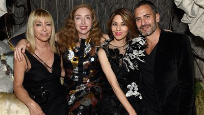 <p>Kim Gordon, sculpture artist&nbsp;Rachel Feinstein, Sofia Coppola and Marc Jacobs. #squadgoals</p>