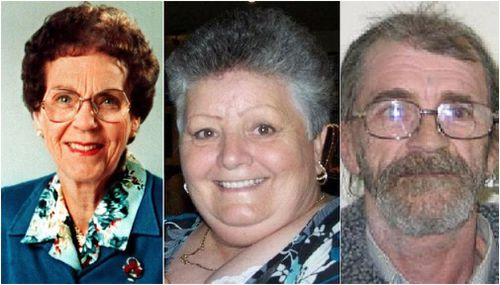Police say the same person killed Phyllis Harrison, Beverly Hanley and Stephen Newton.