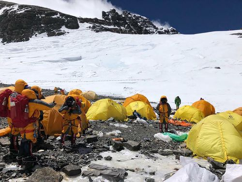 Tents and equipment are left on the mountain by tourists and incorrect bathroom practice means human waste is leaking into vital water supplies.