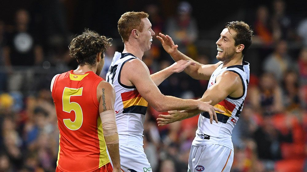 Crows belt Suns to remain unbeaten in AFL