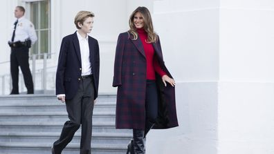Melania Trump's deeply personal conversation with son Barron
