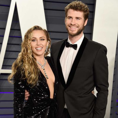 Miley Cyrus and Liam Hemsworth: Eight months
