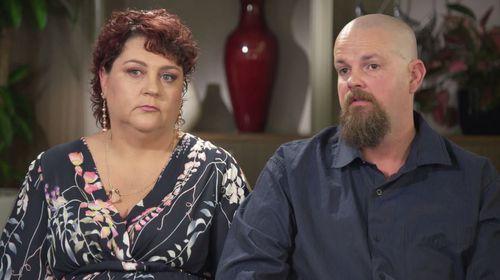 Sam's parents Joanne and Brendan.