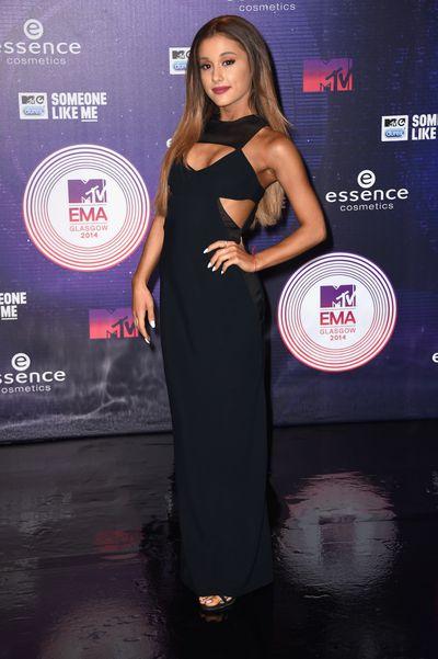 Ariana Grande at the MTV EMA Awards in Glasgow, Scotland November 2014