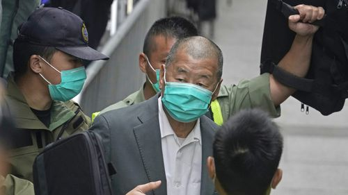 Hong Kong tycoon gets 14-month jail term over 2019 China protest