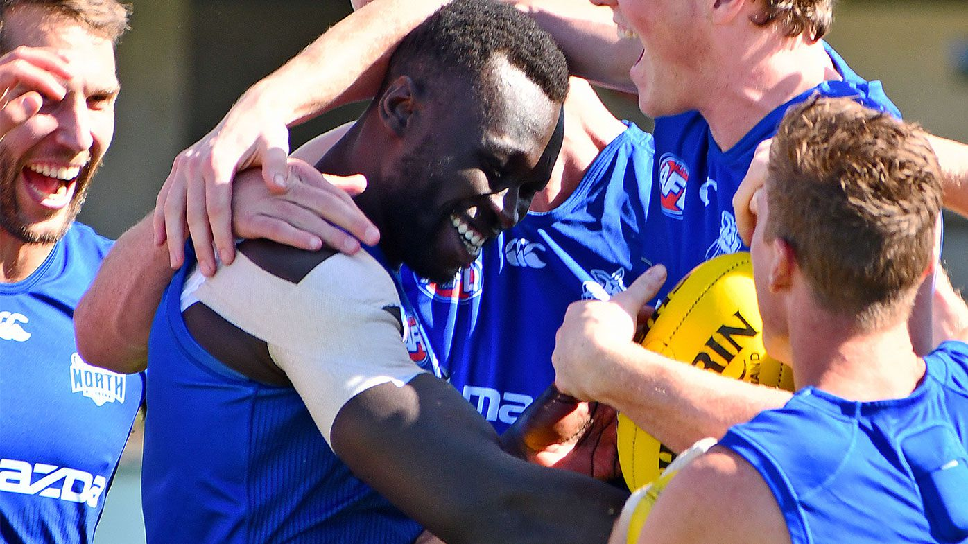 'There's no greater feeling': Majak Daw named to play first AFL match since 2018