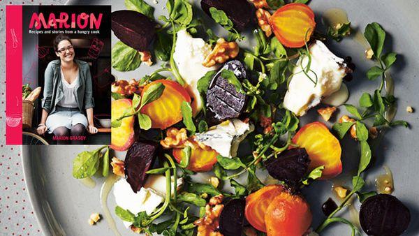 Colour-me-autumn salad