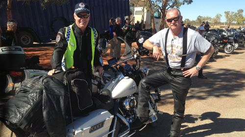 NT police commissioner joins Black Dog Ride to 'make a difference'