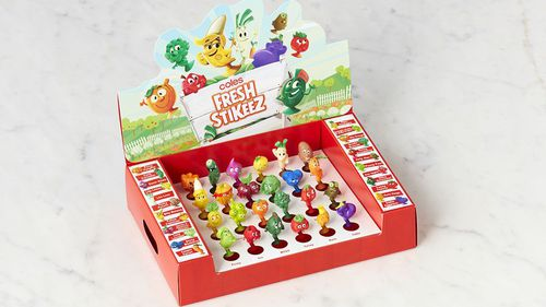 Coles new Stikeez collectable campaign has arrived
