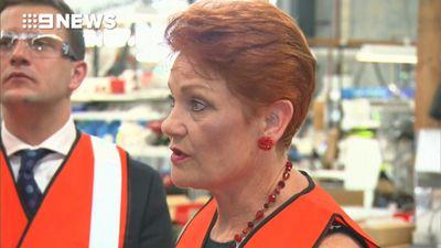 Queenslanders voting One Nation, Hanson
