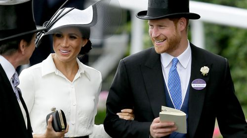 The Duchess received cheers and applause as she entered the venue. Picture: Getty