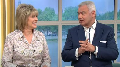 This Morning presenters Eammon Holmes and Ruth Langford