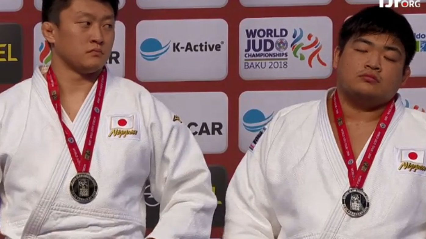 Judo fighters disqualified for being too passive