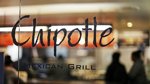 A string of reports on IWasPoisoned last year about Chipotle Mexican Grill hurt the company's stock. (AAP)