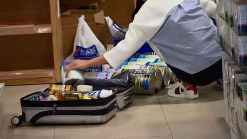 Australian baby formula is a booming market in China. (9NEWS)