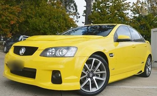 He was last seen getting into this yellow Holden Commodore.