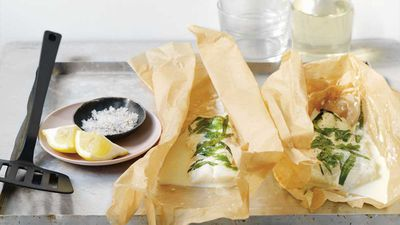 "Recipe: <a href=""http://kitchen.nine.com.au/2017/07/06/13/25/fish-en-papillote"" target=""_top"" draggable=""false"">Fish in paper en papillote</a>"