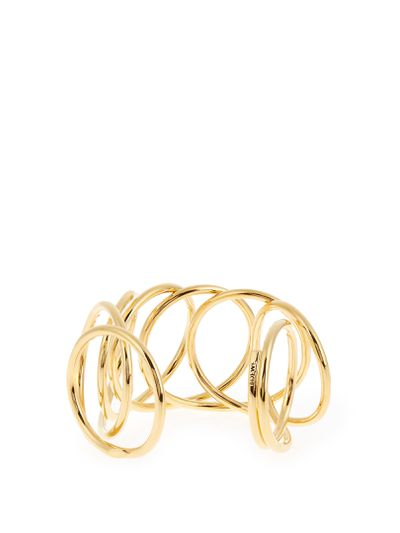 "<a href=""http://www.matchesfashion.com/au/products/Loewe-Wire-gold-plated-cuff-1065266"" target=""_blank"">Loewe wire gold-plated cuff, $661 at Matches.</a>"