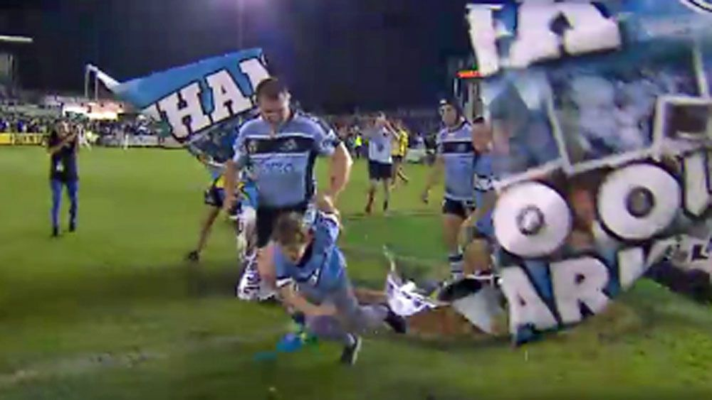 Banner proves Sharks' biggest obstacle
