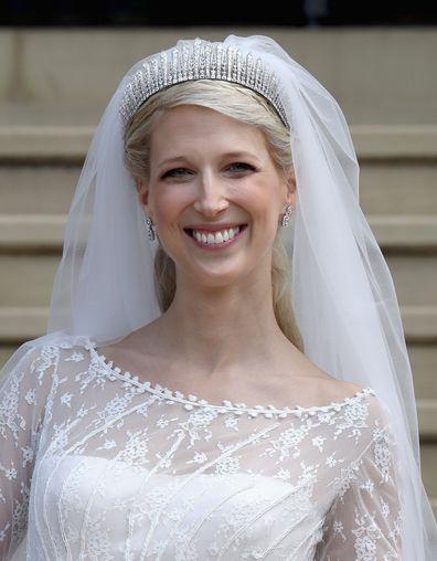 Royal wedding: Lady Gabriella's dress followed royal protocol