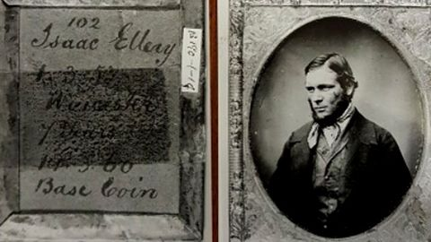 Cushion thief Isaac Ellery transported to Australia in 1853. (Photo: West Midlands Police UK).