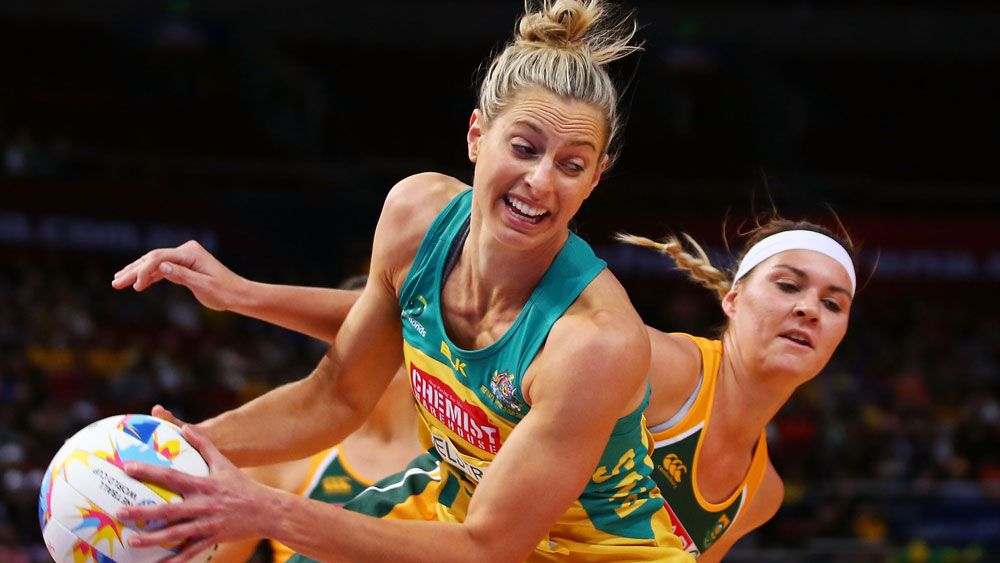 Australian captain Laura Geitz in action. (Getty)