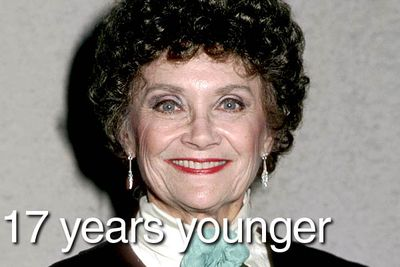 When <i>The Golden Girls</i> debuted in 1985, actress Estelle Getty was 62 years old — 17 years younger than her character. The actress playing Dorothy, Bea Arthur, was actually 63, seven years older than her character and a year <i>older </i>than her onscreen mother!
