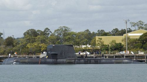 The current Collins class submarines are to be replaced. (AAP)