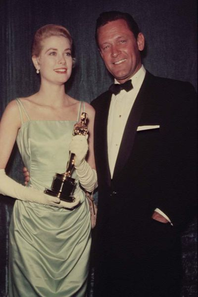 Grace Kelly at the 27th Annual Academy Awards
