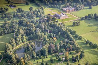The Althorp Estate is located in Northamptonshire, United Kingdom.