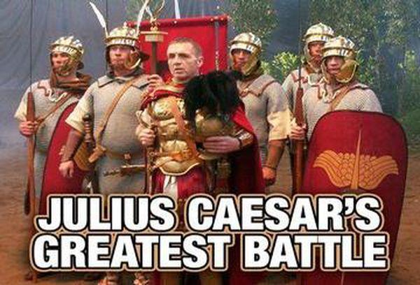Julius Caesar's Greatest Battle