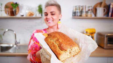 Jane de Graaff's five-minute mix five-ingredient banana bread